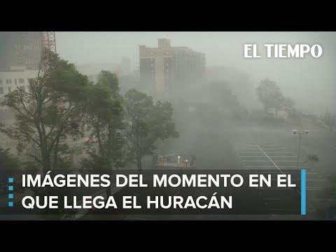 La impresionante devastación del huracán Florence   EL TIEMPO