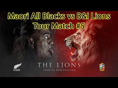 Maori All Blacks vs Lions - Lions Tour Stop #5 - Rugby Challenge 3