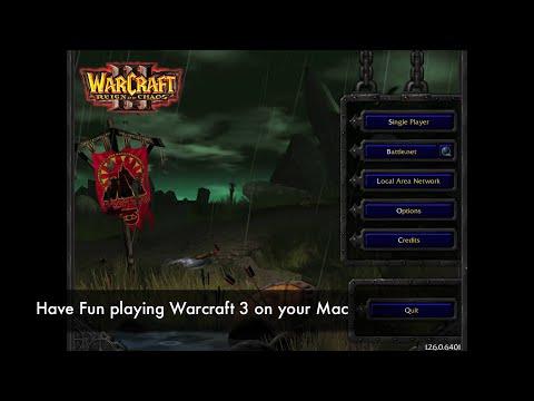 Install Warcraft 3 on Mac OS X