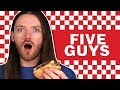 Irish People Try Five Guys