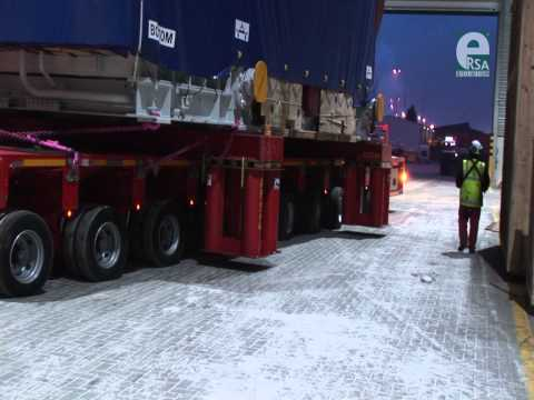 HEAVY LIFTING+HANDLING - TURBINE TRANSPORT