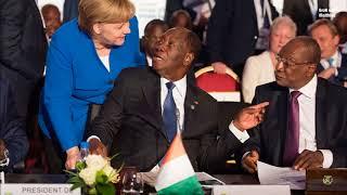 Kanzlerin Angela Merkel mit Musik von: Peter Maffay - Über sieben Brücken mußt du gehn