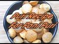 Puri Recipe For Pani Puri   Homemade  