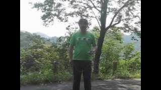 2012-5-27友と太閤ケ平(本陣山).Walking