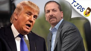 Media Meltdown After Trump Insults Chuck Todd
