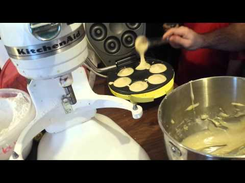 Homemade Donuts And Buttercream Frosting With Babycakes Donut Maker. With