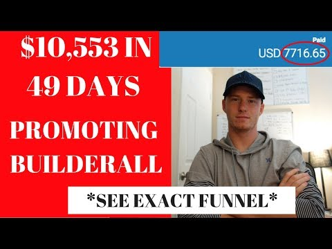 $10K in 48 Days Promoting Builderall Review [SEE EXACT FUNNEL]
