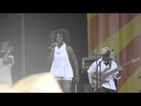 Allen Toussaint at Jazz Fest 2013 04-27-2013 Lady Marmalade