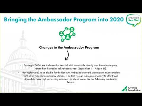 August Ambassador Briefing: Gearing up for 2020 and Beyond