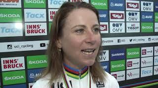 VM 2018: Annemiek van Vleuten om enkeltstarten