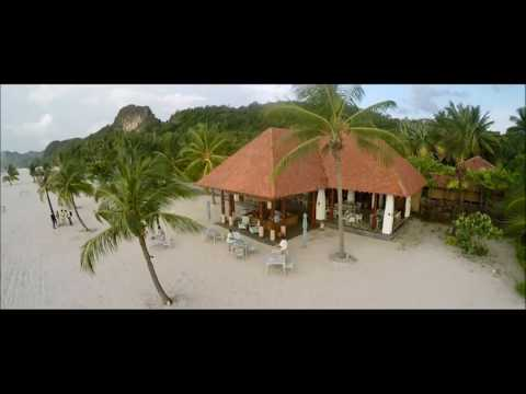 Aerial Tour of Four Seasons Resort Langkawi, Malaysia