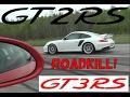 [4k] Porsche 911 GT2 RS TEACHES the 991 GT3 RS PDK a lesson in a rollrace UNCUT