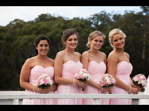 Bridesmaids Outfits, Hair, Makeup On A Budget Crystal Conte