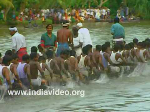 The grand regatta of Champakulam
