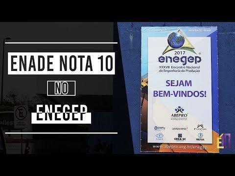 Enade Nota 10 no ENEGEP 2017   E10 de YouTube · Alta definición · Duración:  3 minutos 5 segundos  · 48 visualizaciones · cargado el 13.11.2017 · cargado por Enade Nota 10