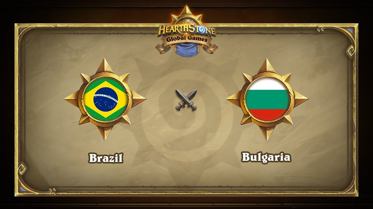 Бразилия vs Болгария | Brazil vs Bulgaria | Hearthstone Global Games (07.06.2017)