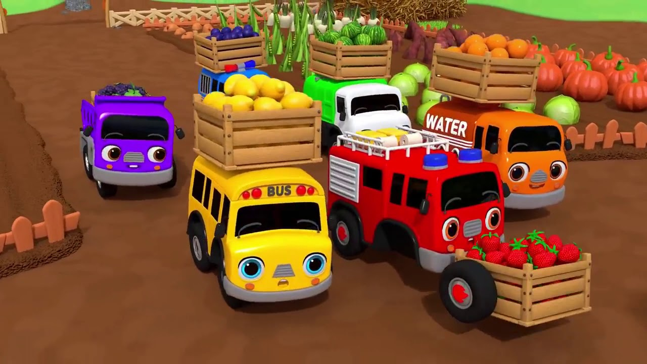 Download Learn Fruits Names With Ice cream Shopping And Harvesting | Nursery Rhymes & Kids Songs - ToyMonster