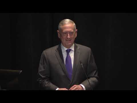 Secretary of Defense James Mattis On American Policy and American Values