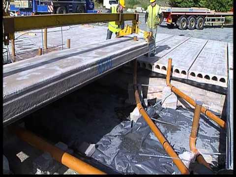 Spanwright precast concrete flooring units - Hollowcore floors