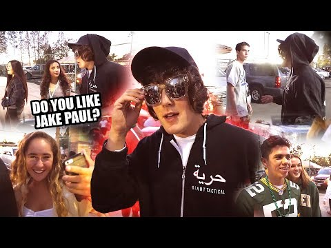 Undercover Jake Paul Asks People What They Think About Jake