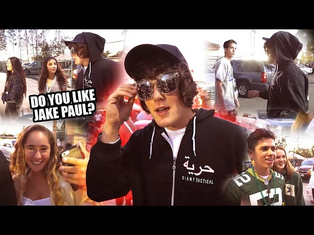 e6df60b936 Undercover Jake Paul Asks People What They Think About Jake Paul 😂 -  YouTube