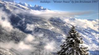 "Holidays - ""Winter Peace"" by Jim Brickman 1997"