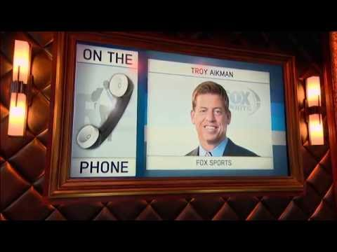 NFL on Fox Analyst Troy Aikman Weighs in on Cowboys