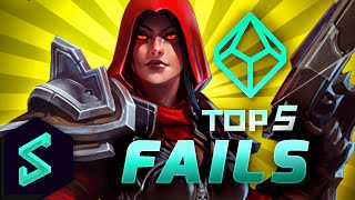 Top 5 Fails | Heroes of the Storm | Ep. 11 w/ MFPallytime | Heroes of the Storm Gameplay | HotS