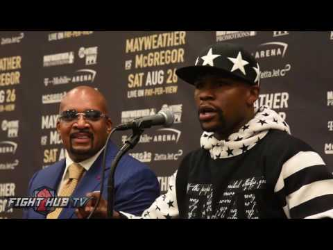 Thumbnail: Floyd Mayweather drops knowledge, talks why he's not wearing a suit