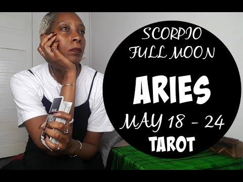 Смотрите сегодня видео новости ARIES TAROT FULL MOON IN SCORPIO 🌕NEW  START! WATCH OUT FOR PREDATORS!!! 🌕TAROT MAY 18 - 24 2019 на онлайн канале