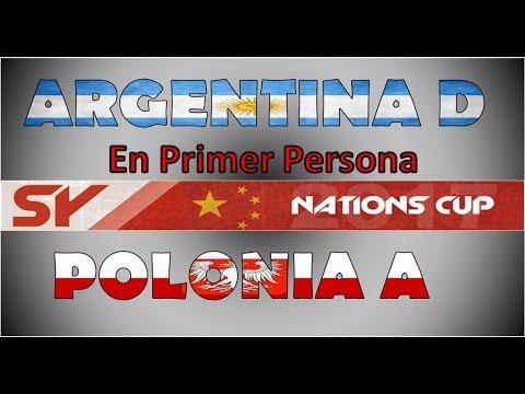 ARGENTINA D (Riverplation POV) vs Polonia A (2k+) - Nations Cup en Español