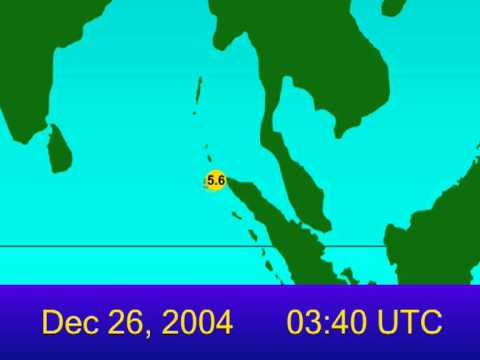2004 Indian Ocean Earthquake Animation