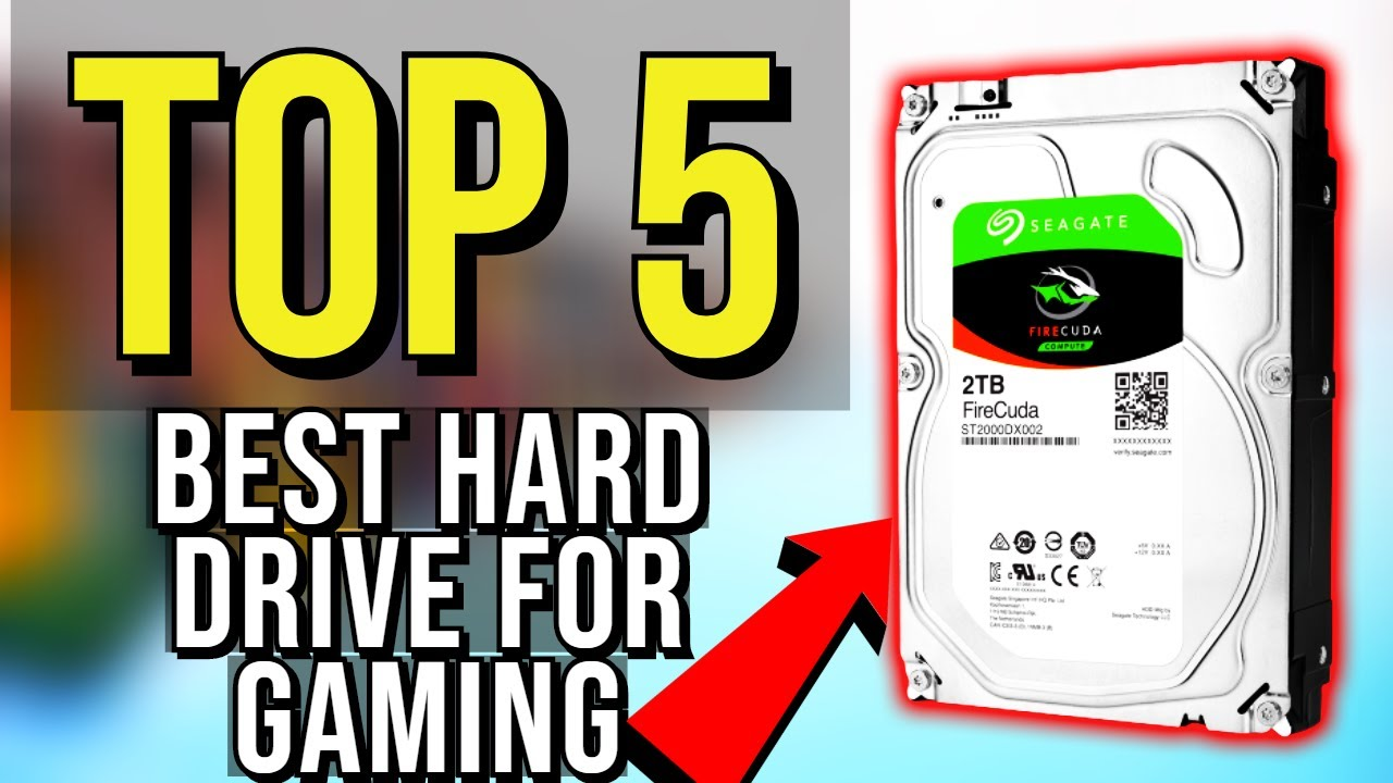 ✅ TOP 5: Best Hard Drive For Gaming 2019