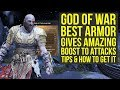 God of War Best Armor Gives INSANE BOOST TO DAMAGE  - Valkyrie Set (God of War 4 Best Armor)