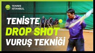Teniste DROP SHOT (Kısa Top) Vuruşu - Rakibi Çaresiz Bırak! - Drop Nasıl Vurulur?