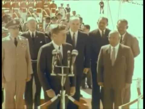 October 4, 1961  President John F. Kennedy's remarks to President Abboud of Sudan