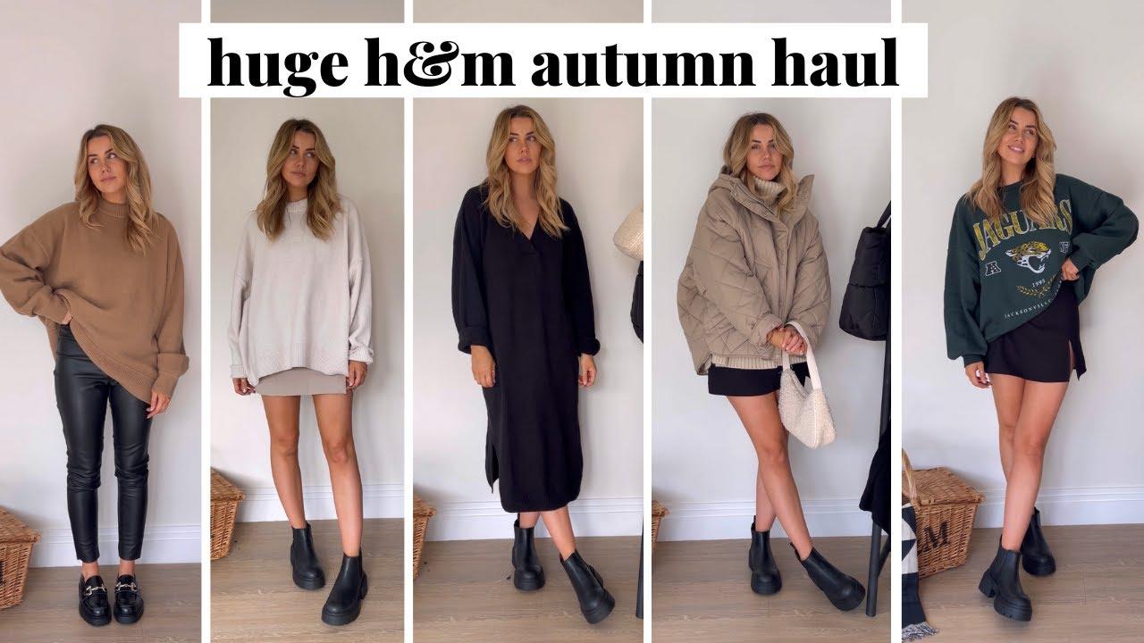 HUGE H&M Autumn Haul | Autumn Outfit Ideas | jessmsheppard