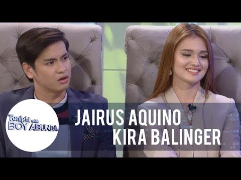 TWBA: Jairus Aquino And Kira Balinger Talk About Their Uniqueness