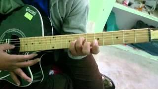 Guitar Tabs of Tera Mera Rishta Purana(Awarapan)....