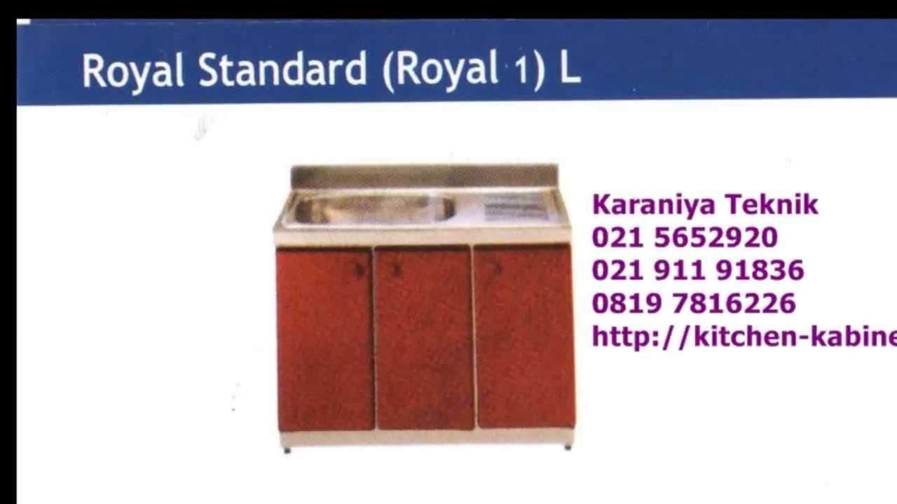 Kitchen Set Royal Type Royal Standard R1 L Youtube