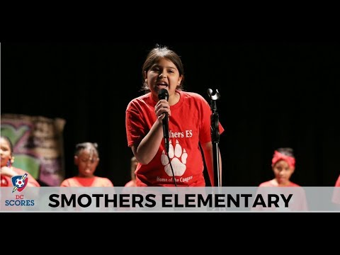 Smothers Elementary School performs at 2017 Poetry Slam!