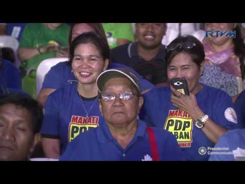 Partido Demokratiko Pilipino (PDP) Laban 35th Anniversary (Speech) 3/12/2017