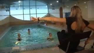 Аквааэробика в клубе Orange Fitness с Ариной Матушкиной