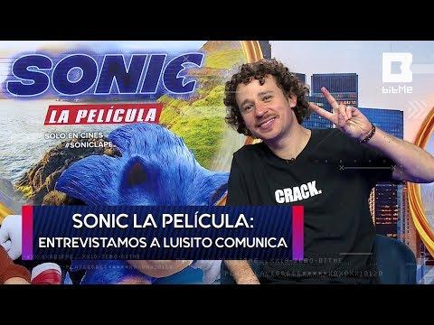 Sonic La Película: Luisito Comunica nos cuenta sobre su experiencia en el doblaje | BitMe