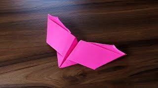 Pájaro que Bate sus Alas Como hacer un avión de papel que vuela - PLANEADOR