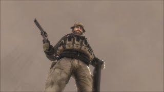COD MW2 - Captain Price Betrays You But Shepherd Comes To The Rescue