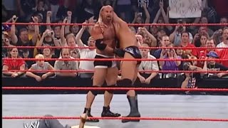 Goldberg vs Randy Orton -WWE RAW HIGHLIGHTS