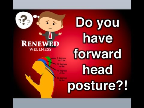 Forward Head Posture Correction at Renewed Wellness