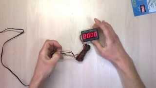 видео Установка электронного тахометра на ваз 2109