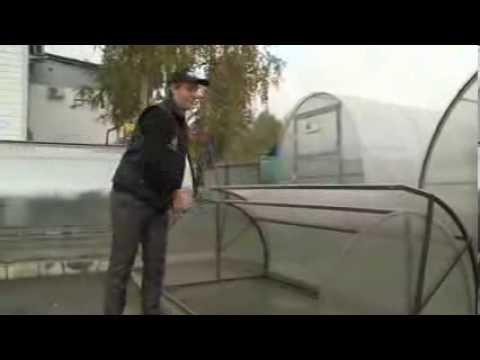 видео: Парник Улитка